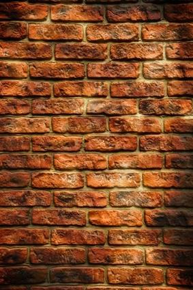 Фото кирпичной стены из старинного кирпича - Плитка под старый кирпич.